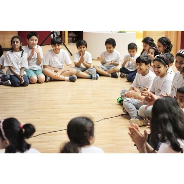 مشاركتي لورشة عمل تدريب للصلصال في مجموعة كلايم في مدارس المنهاج الأهلية